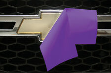 Chevy Vinyl Sheet x2 fits Chevy Bowtie Emblem Logo 3M PURPLE Decals U-CUT Trim