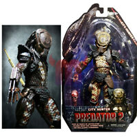 "NECA City Hunter Predator Masked 7"" Action Figure 1:12 Predators Series 7 Doll"