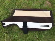 Rambo Newmarket fleece dog coat size med