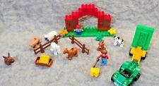 Lego Duplo Farm Bundle, Quad Bike & trailer, Animals, Figures & Farm Building