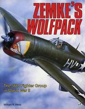 Zemke's Wolfpack The 56th Fighter Group in WWII by William H Ness Softcover 1992