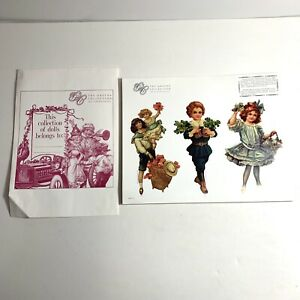 30 Sheets PAPER DOLLS The Gretna Collection Victorian Images SCRAPBOOKING R1