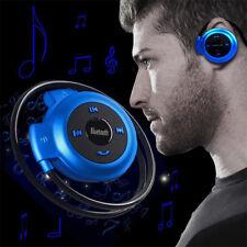 Bluetooth Over-Ear Neckband Wireless Stereo Headphones Mic Handsfree Earphone UK