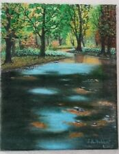 """""""FALL PREVIEW"""" oil painting"""