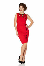 Cotton Party Wiggle, Pencil Sleeveless Dresses for Women