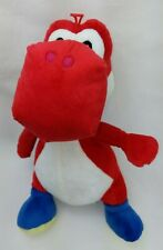 "GOOD STUFF 2017 SUPER MARIO RED YOSHI 15"" PLUSH For All Ages EUC"