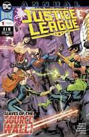 JUSTICE LEAGUE ANNUAL #1 DC COMICS  COVER A 1ST PRINT