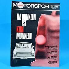 DDR Illustrierter Motorsport IMS 10/1980 Lübbenau Neubrandenburg Tankstellen