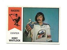1974-75 OPC WHA:#12 Bobby Whitlock,Racers RC