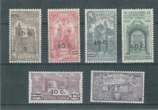 Portugal 1933 Mh Overprinted Set See