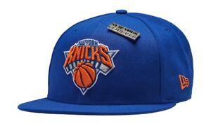 NY Knicks Blue OG Jordan Draft New Era 9FIFTY NBA Retro Adjustable Snapback Hat