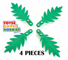 *NEW* 4x LEGO Palm Leaf-Plant Tree House City Creator Minifigure Accessory