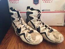 Marvin Jones New York Jets Game Used & Signed Nike AIR ZOOM Cleats Size 13