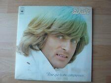 DAVE POUR QUE TU ME COMPRENNES 1978   ALBUM 33T DISQUE VINYL