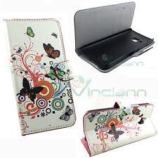 Custodia booklet FARFABALL per HTC One M9 flip cover STAND case portafoglio