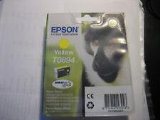 Epson Original T0894 Yellow Stylus SX415 SX100 SX200 S20 S21 Monkey