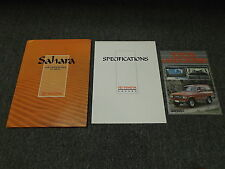 Toyota Land Cruiser Sahara Art Book Brochure 4.2L 1HD-T Diesel Engine FJ80 HDJ80