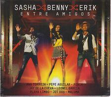 2 CD's / 1 DVD Sasha Benny Erik CD Entre Amigos EL NUEVO USA SELLER  BRAND NEW !