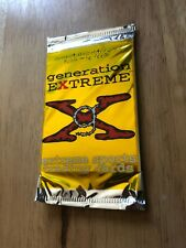 Sealed Packet of Generation Extreme Extreme Sports Cards 10 Cards 1994 surfing