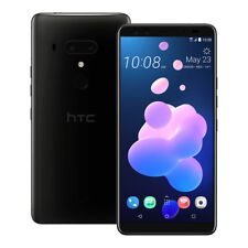 "NEW HTC U12 Plus (2Q55100) 6"" 6GB / 128GB 4 Cameras LTE Dual SIM UNLOCKED BLACK"