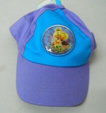 Cappello con visiera DISNEY TINKER BELL Trily Viola e Azzurro bambini G252