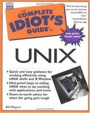 Complete Idiot's Guide to Unix (The Complete Idiot's Guide), Wagner, Bill, Good