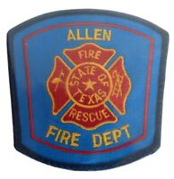 Allen Texas Fire Department Patch TX Fire Dept. Rescue