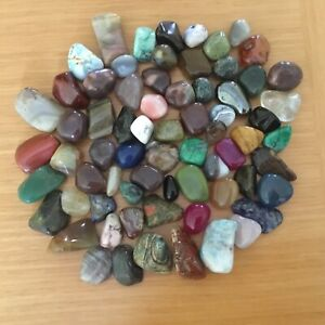 Mixed Healing Crystal tumble stones Reiki cleansed 15mm to 35mm 50 g to 1 kilo