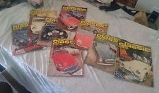 Thoroughbred & Classic Cars 1976-1980 8 total mags!