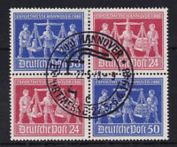 Alliierte Besetzung V Zd 1 sauber gestempelt ETSST Vollstempel Exportmesse 1948