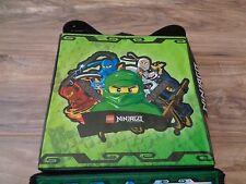 LEGO Movie Green Ninjago Battle Arena Carrying Case Minifigure Masters Spinjitzu