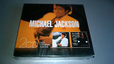 CD MICHAEL JACKSON : THRILLER - OFF THE WALL (COFFRET 2 CD)