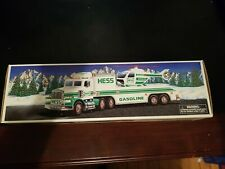 1995 HESS TOY TRUCK AND HELICOPTOR NEW NIB