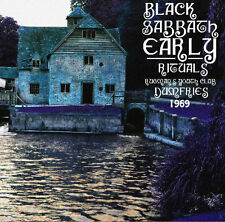 BLACK SABBATH - Early Rituals - Rugmans Youth Club, Dumfries 1969 LP Blue Vinyl!