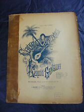 Partition Sérénade Orientale Gangloff Music Sheet Grand Format