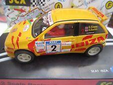 SCX 1/32 -  SEAT IBIZA - Scottish Rally 99 - ( 2nd CAR SHIPS FREE )