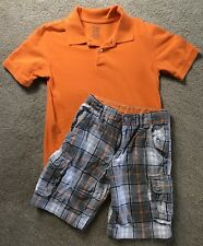 Faded Glory Shorts Outfit For A Boy In Size 10
