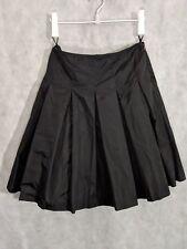Prada Archive Pleated Tennis Skirt Black Nylon Athletic Windbreaker 40 Italy