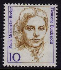 Westdeutschland 1986-94 Berühmte Damen 10pf Paula Modersohn-becker SG 2151 Mnh