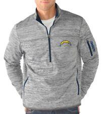 """San Diego Chargers G-III NFL """"Fast Pace"""" 1/4 Zip Premium Men's Sweatshirt"""