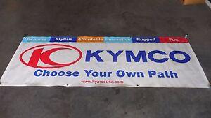 Kymco Dealer Exclusive Banner HUGE