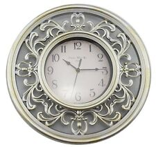 Wall Clock Hanging Art Ornament Filigree Design Modern Home Decor *30 cm*