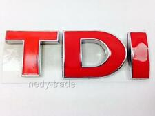 TDI Red Badge Emblem Logo for VW Touran Sharan Caddy Transporter T4 T5 T6