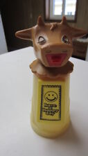 Vintage Whirley Have a Happy Day Moo Cow Creamer