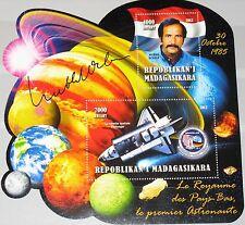 MADAGASKAR MADAGASCAR 2012 unlisted 1 Nentherlandish Astronaut Ockels Space MNH