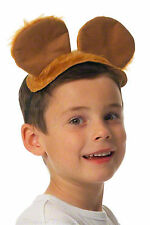 Kids Bear Costume Mouse Ears & Tail Teddy Fancy Dress Dog World Book Day Animal