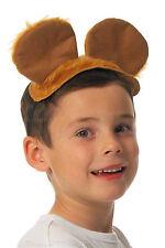 Kids Bear Costume Mouse Ears & Tail Teddy Fancy Dress Dog World Book Day Animal