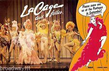 "Jerry Herman ""LA CAGE AUX FOLLES"" Harvey Fierstein 1984 Los Angeles Postcard"
