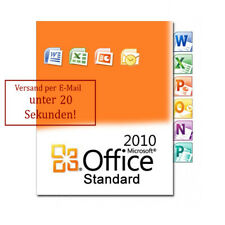 Microsoft Office 2010 Standard Key MS Office 2010 Original Version Complète Allemand