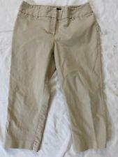 Women's Dana Buchman signature beige Capri Cropped pants Size 14